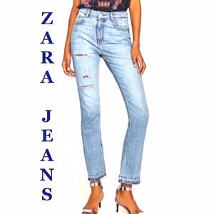 ZARA WOMAN PREMIUM DENIM COLLECTION JEANS